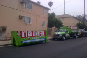Commercial Junk Removal Service | 323-633-0610 | Go Junk Free America