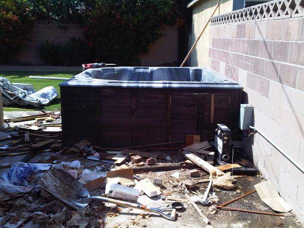 Spa Removal | 323-633-0610 | Go Junk Free America